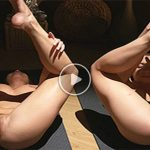 Nude yoga porn video compilation